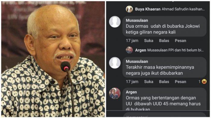 Sudah 3 Hari Netizen Tribun Ributi Pernyataan Azyumardi Azra '2 Ormas Islam Bubar di Era Jokowi'