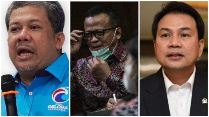 Terbongkar Fahri Hamzah dan Aziz Syamsuddin Difasilitasi Terdakwa Edhy Prabowo Urus Benih Lobster