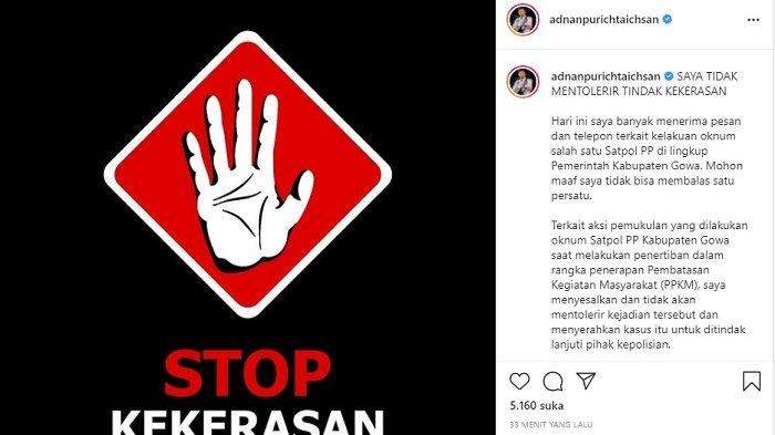 Bupati Gowa Tindak Tegas Satpol PP Gowa Pukul Ibu Hamil 'Jangan Artikan Tegas untuk Bertindak Kasar'