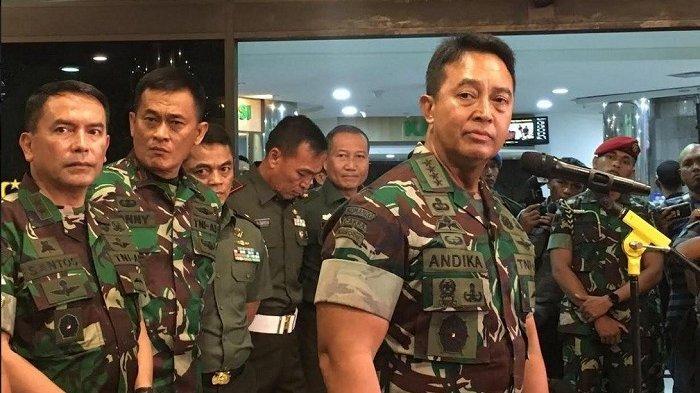 Calon Panglima TNI Andika Perkasa Belum Laporkan Harta Kekayaan Kini Ada Orangnya Temui KPK