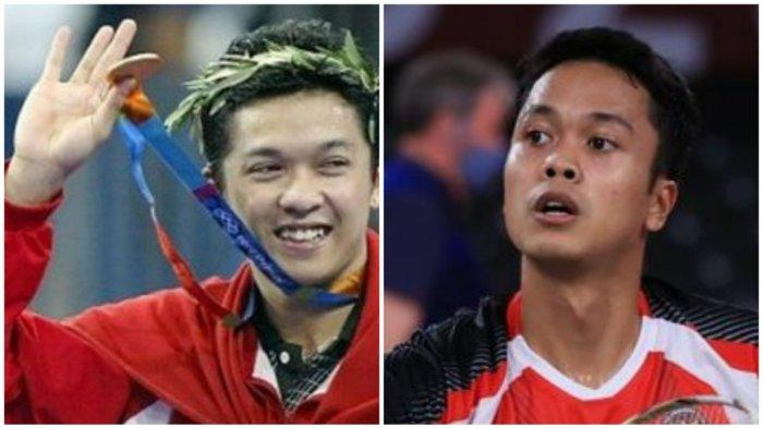 Head to Head Prestasi Atlet Bulutangkis Taufik Hidayat versus Anthony Sinisuka Ginting