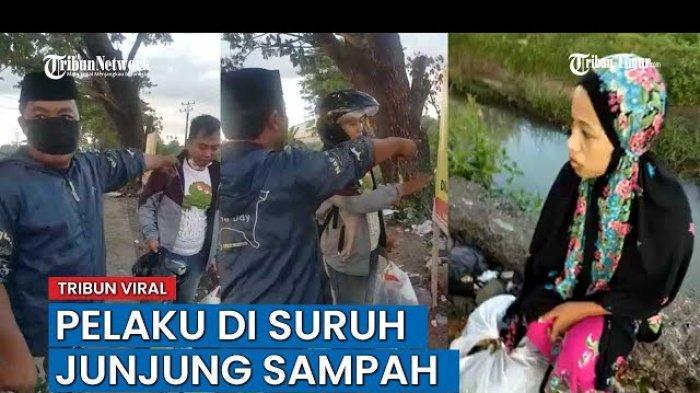 Viral Lelaki Pakai Celana Loreng TNI Hukum dan Bentak Pelaku Pembuang Sampah Sembarangan di Gowa