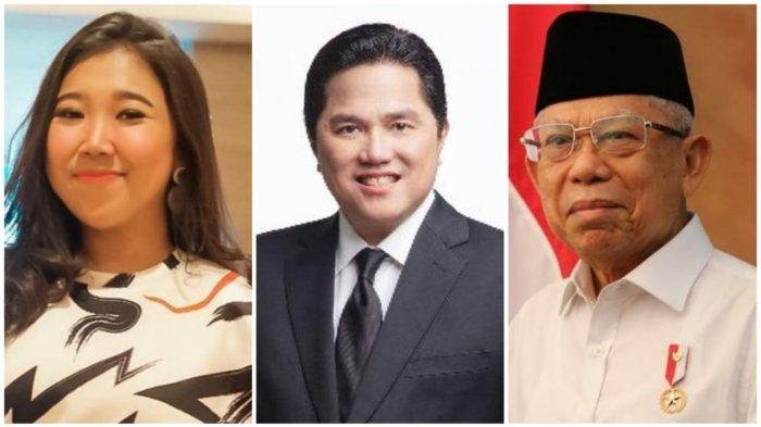 Kiky Saputri Roasting Erick Thohir, Singgung Kinerja Wapres Maruf Amin 'Pak Jokowi Doang Kerja'