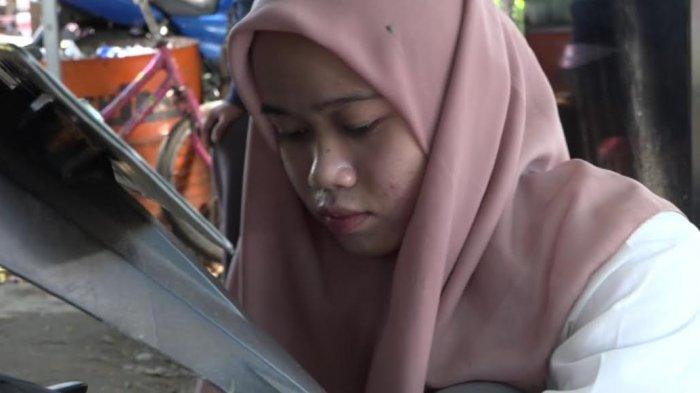 Viral Jadi Tukang Tambal Ban, Gadis Remaja Asal Palopo Ditawari Beasiswa di Universitas Mega Buana