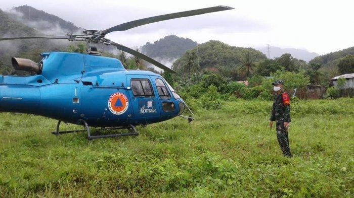 Cuaca Buruk, Helikopter Milik BNPB Mendarat Darurat di Polman