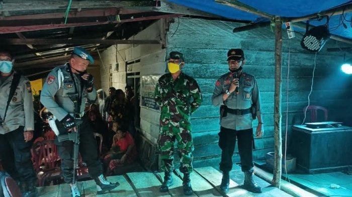 TNI-Polri Bubarkan Hiburan Musik Elekton Pesta Pernikahan di Malangke Barat Luwu Utara
