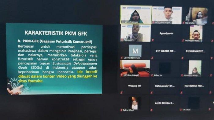 Dorong Mahasiswa Buat Proposal, Himikom UMI Gelar Sosialisasi PKM 2021
