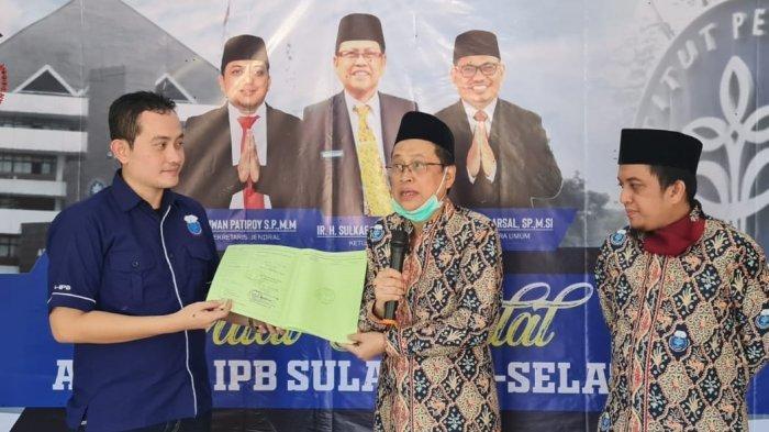 Himpunan Alumni IPB Sulsel Halal Bihalal di Masjid Al Ghifari Maros