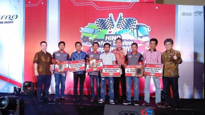 Ini Pemenang Hino Driving Competition 2018 di Makasar