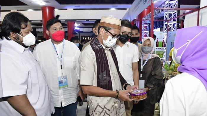 Sandiaga Uno Buka Kegiatan Hipmi Sulsel Expo 2021