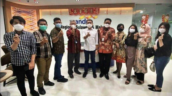 FOTO: Pengurus HIPMI Sulsel Audiensi ke Bank Mandiri