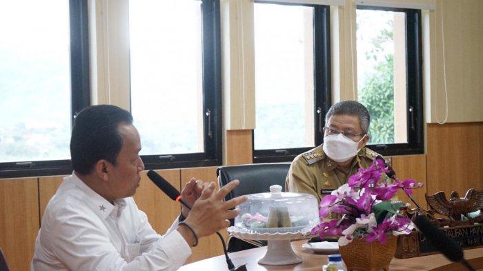 Taufan Pawe Terima Kunjungan Kepala BIN Sulsel, Laporkan Kondisi Penanganan Covid-19