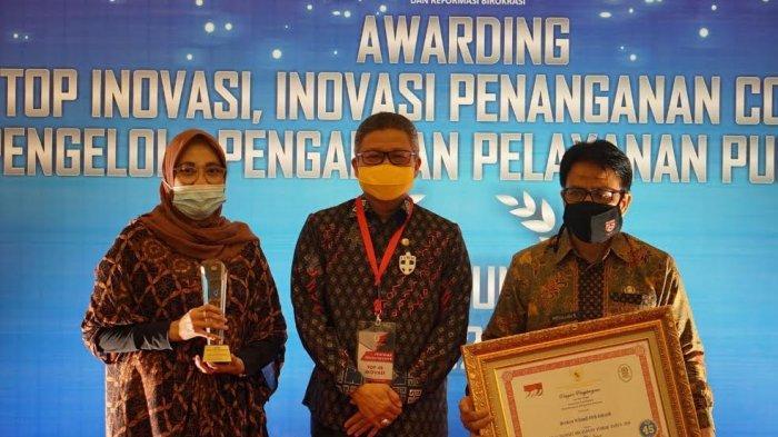 Raih Penghargaan Top 45 Inovasi, Taufan Pawe Support Lahirnya Figur Inovatif di Parepare