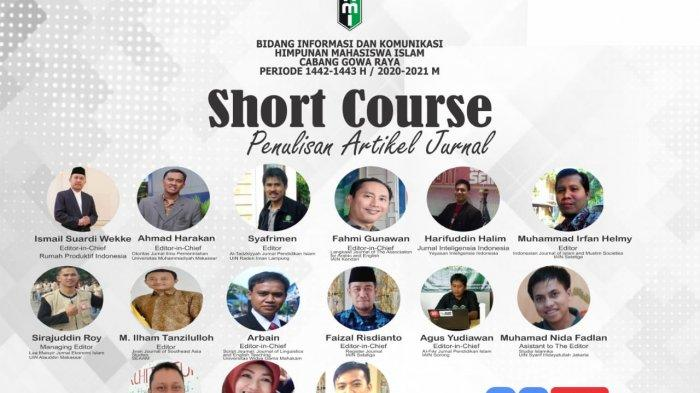 HMI Cabang Gowa Raya Gelar Short Course Penulisan Artikel Jurnal Selama 15 hari