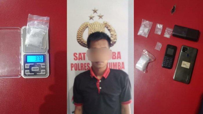 Warga Kajang Bulukumba Kepergok Kemas Sabu, Langsung Digelandang ke Kantor Polisi