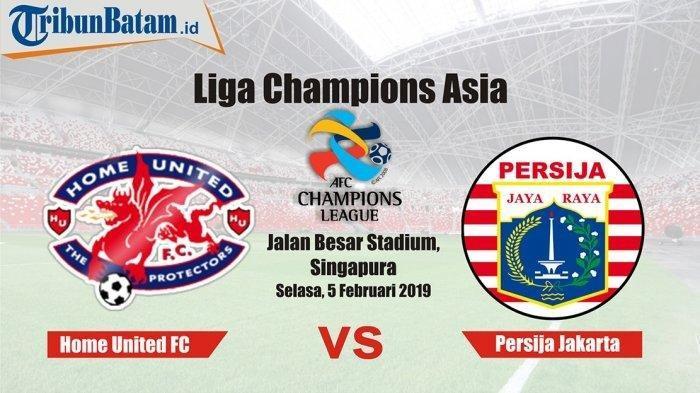 Live Streaming Kualifikasi LCA Home United vs Persija Jakarta: Live di 1 Play Sports
