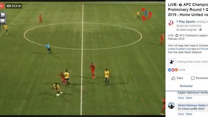 Skor 0-1, Live Streaming Home United vs Persija Jakarta: Macan Kemayoran Unggul, Nonton Disini