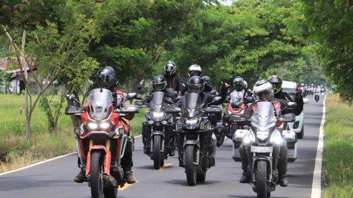 Honda Big BOS Sulawesi Journey Sukses Pacu Adrenalin Riders Big Bike