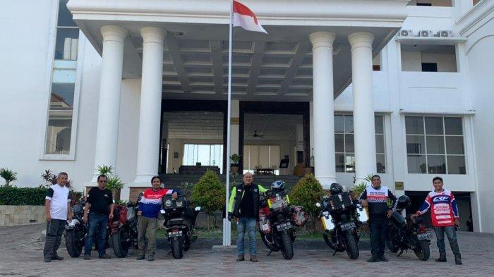 Honda Big Bike Makassar Sukses Touring ke Soppeng dan Bulukumba