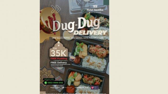 Paket Dug-dug Delivery Santika Makassar Hanya Rp 35 Ribu