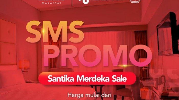 Spesial Agustus, Nginap di Hotel Santika Makassar Hanya Rp 450 Ribu
