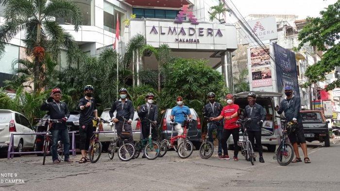 Hotelier Cycling Community Gelar Gowes Amaliah Ramadhan, Beri Bantuan ke PA Arafah