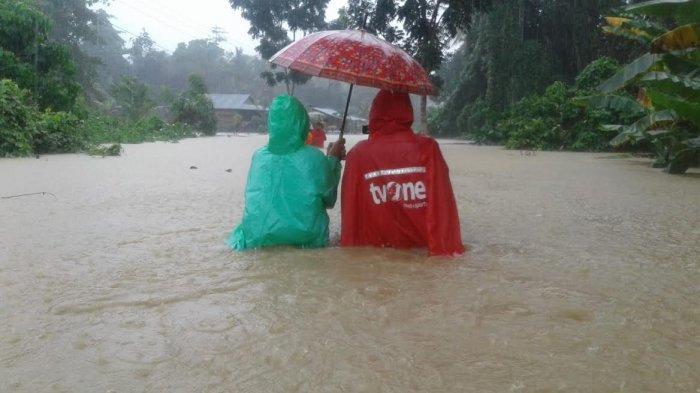 Hujan Deras, Sudah 3 Kecamatan di Luwu Terendam Banjir