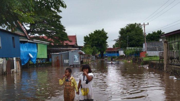 Banjir Setengah Meter di Tamanroya Jeneponto