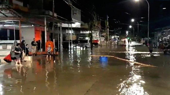 Seharian Diguyur Hujan, Kota Sengkang Wajo Terendam Banjir