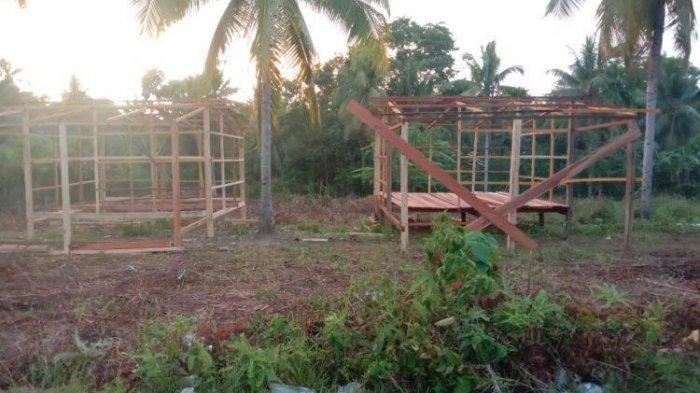 GUSDURian Peduli Bangun 20 Huntara untuk Korban Gempa di Malunda Majene