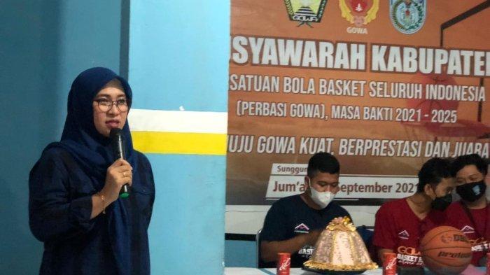 Legislator Perempuan DPRD Gowa Husniah Talenrang Cari Bibit Pebasket Hingga Pelosok Desa