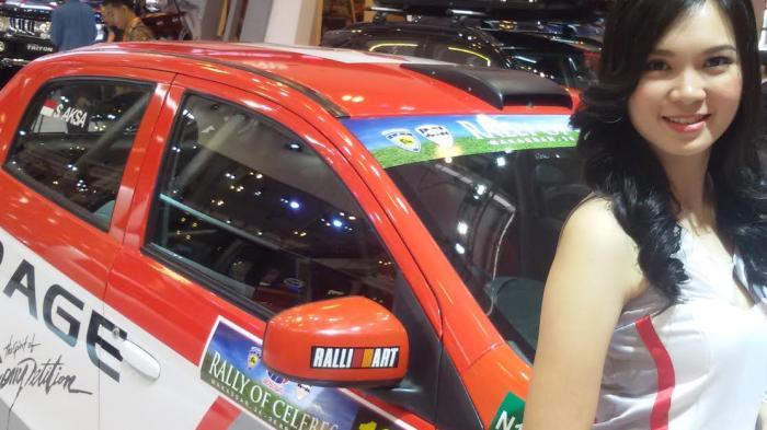 Mobil Balap Subhan Aksa Dipajang di GIIAS 2015