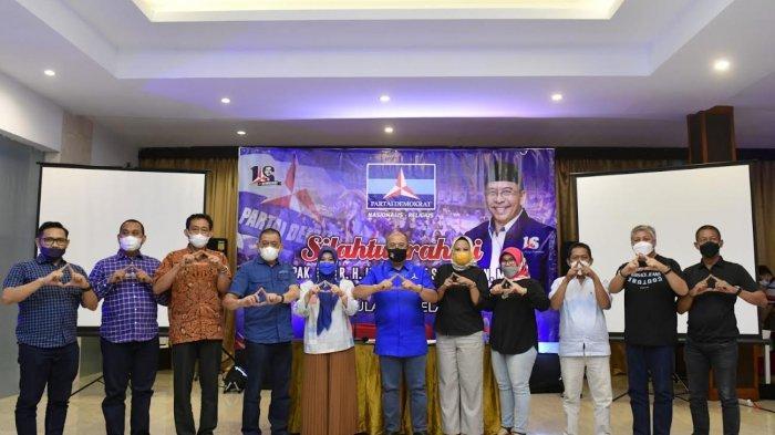 Ilham Arief Sirajuddin Makan Malam Bareng 11 Ketua DPC Demokrat