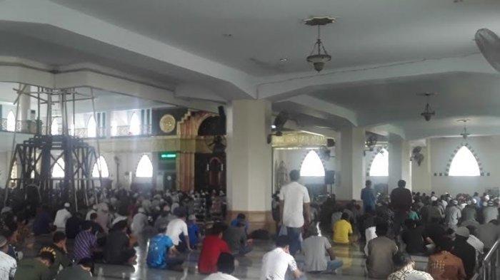 Virus Corona Menyerang, Jumatan Tetap Digelar di Masjid Agung Al-Munawwir Pinrang