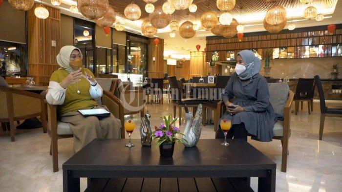 FOTO; Wawancara Khusus Menteri Ketenagakerjaan RI Ida Fauziyah - ida-fauziyah-melakukan-wawancara-khusus-wansus-dengan-tribun-timur-1.jpg