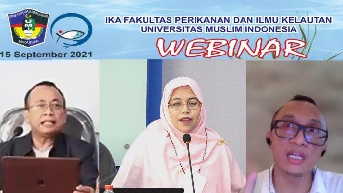 IKA FPIK UMI Makassar Hadirkan Political Ecologist Irendra Radjawali di Webinar Disrupsi Perikanan