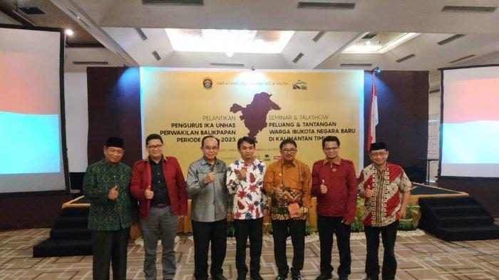 IKA Unhas Balikpapan Resmi Dilantik, Alumni Bahas Potensi Ibu Kota Baru
