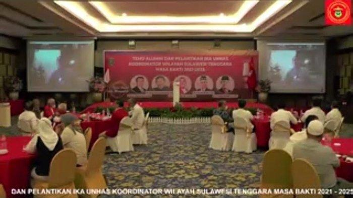 Berikut Susunan Pengurus IKA Unhas Korwil Sultra Periode 2021-2025, Asrun Lio Jadi Ketua