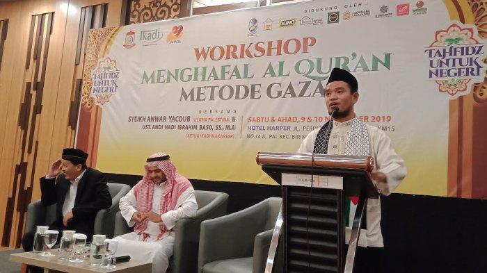 Ikadi dan Sadaqa Gelar Workshop Menghafal Alquran Metode Gaza