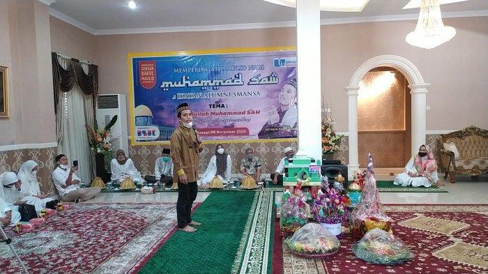 IKA Smansa Makassar Peringati Maulid Nabi, Hadirkan Ustaz Maulana