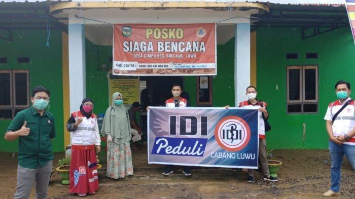 IDI Terjunkan Relawan ke Daerah Terdampak Banjir di Kabupaten Luwu