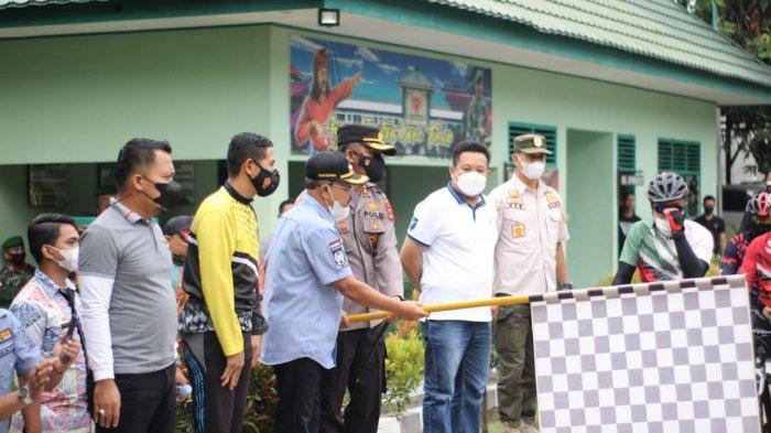 Bupati Jeneponto Lepas Rombongan Fun Bike Pangdam XIV/Hasanuddin ke Bantaeng