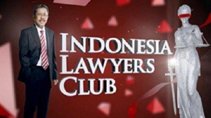 SEDANG BERLANGSUNG LIVE STREAMING ILC TV One Malam ini, Topik 'Corona: Pro dan Kontra Lockdown'