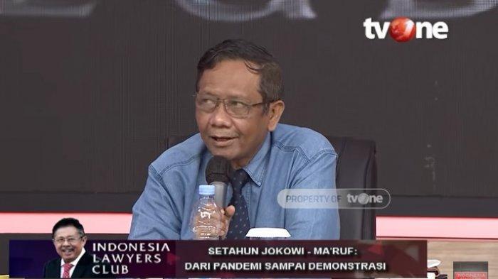 BLAK-BLAKAN ILC TV One! Mahfud MD Menko Jokowi Permalukan Mahkamah Agung, Ada Moeldoko, Gatot, Rizal