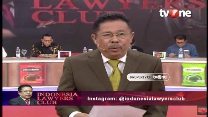 LINK Live Streaming TV One ILC Malam Ini, Karni Ilyas Bahas Tragedi Ciracas, Jenderal Andika Hadir?