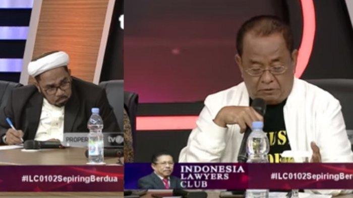 ILC TV One tadi malam Jokowi & Prabowo Kini Sepiring Berdua, Liat Ekspresi Said Didu & Ali Ngabalin
