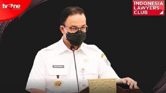 ILC TV One Tadi Malam soal PSBB Jakarta, Anies Baswedan: Jangan Anggap Kematian itu Sebagai . . .