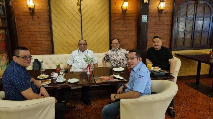Maju Musda Demokrat, Ilham Arief Sirajuddin Temui Elite DPP di Jakarta