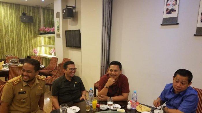 Devo-Ilham Nadjamuddin-RMS-Iwan Darmawan 8 Mata di Hotel, Bahas Pilkada Maros?