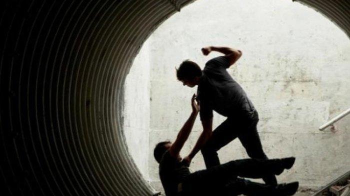 Ditantang Berkelahi, Pria Polman Nyaris Bunuh Tetangga Kampungnya
